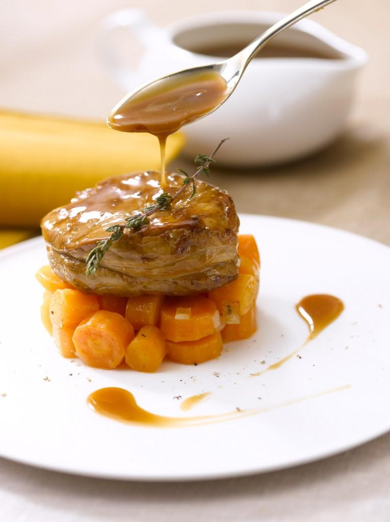 Jus de Rôtis Ariaké - Médaillon de veau de JR - Veau + cuillère 3